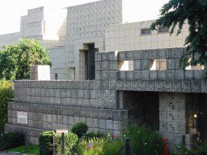 Casa Ennis. Frank Lloyd Wright. Imagen vía: HarshLight (Flickr)