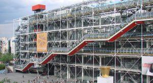 Centro de Arte Pompidou. Renzo Piano y Richard Rogers. Imagen vía: Jean-Pierre Dalbéra (Flickr)